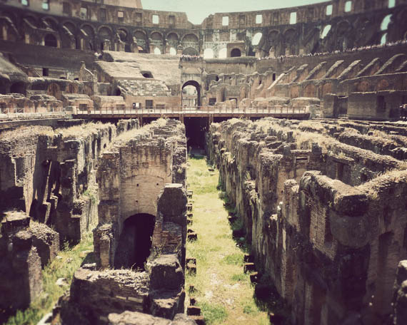 A look inside the Colosseum (and what was once under the arena floor)