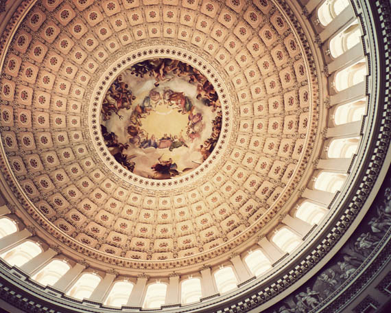 The Capitol's dome
