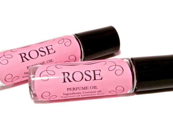 "All-natural perfume oil in a heavenly rose scent by ""The Green Alchemist"" in Dundas, Canada"
