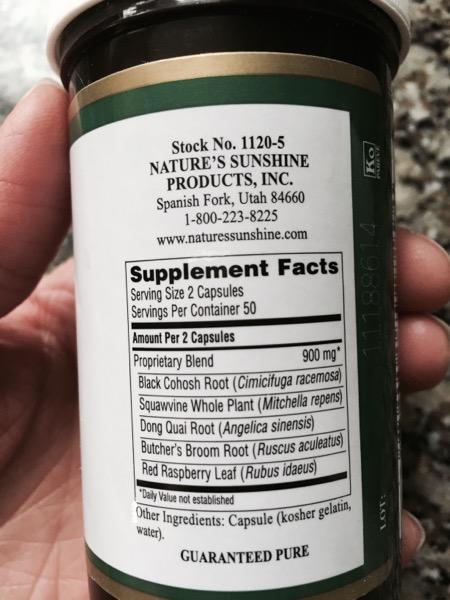 5-W ingredients