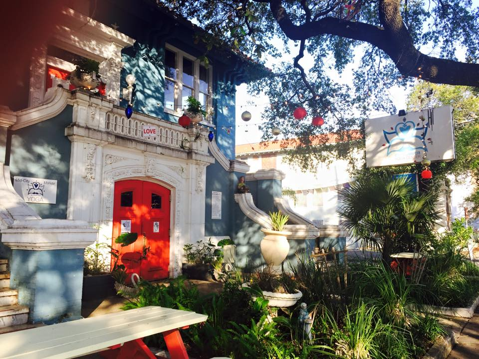 If you're in the Big Easy, go here. Do it. You'll love it.If you're a hippie, yoga type for sure.