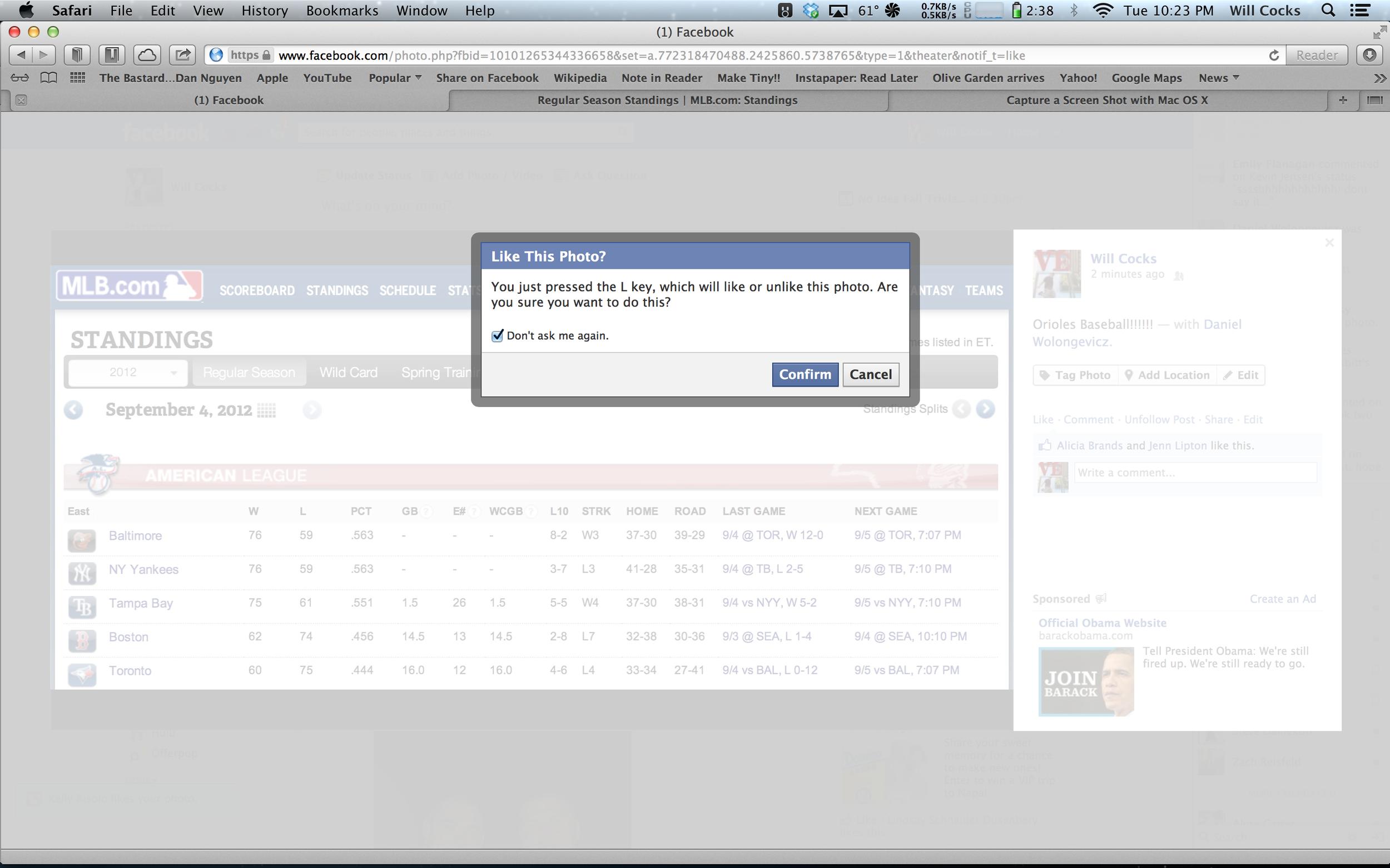 Facebook adding Keyboard shortcuts?!?
