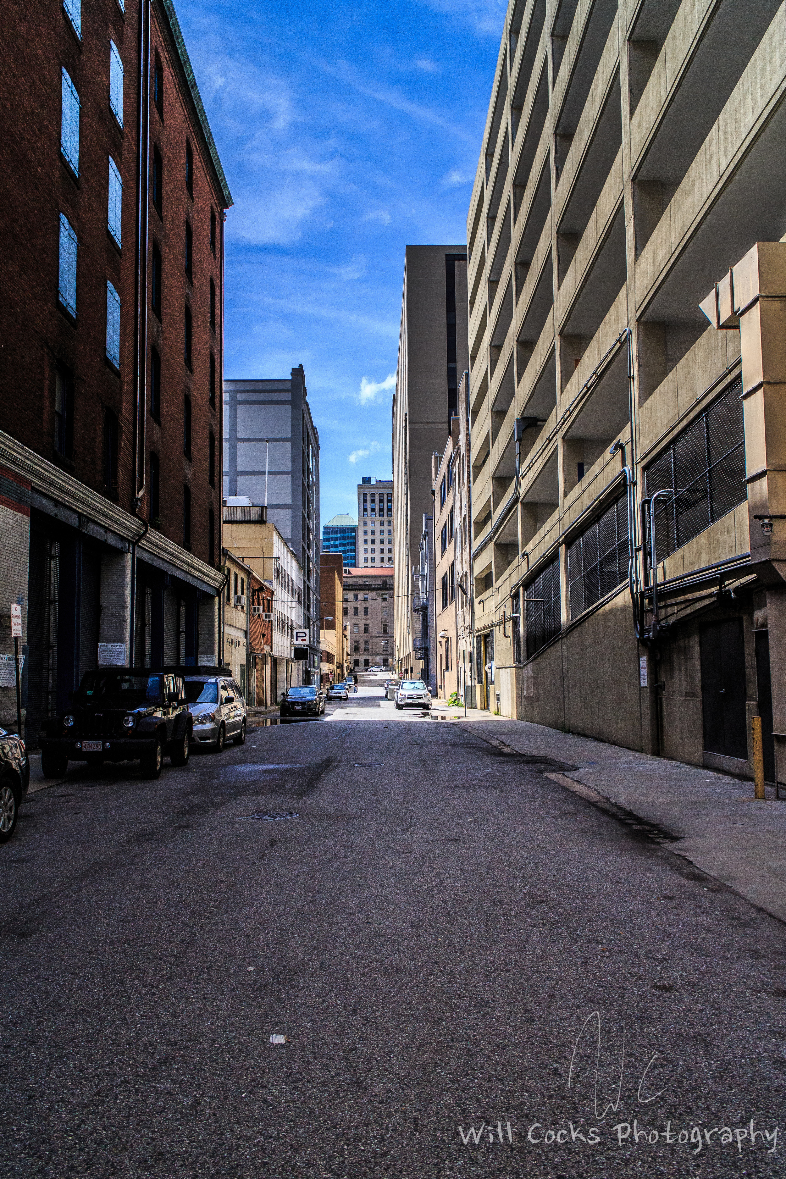 An alley in Baltimore