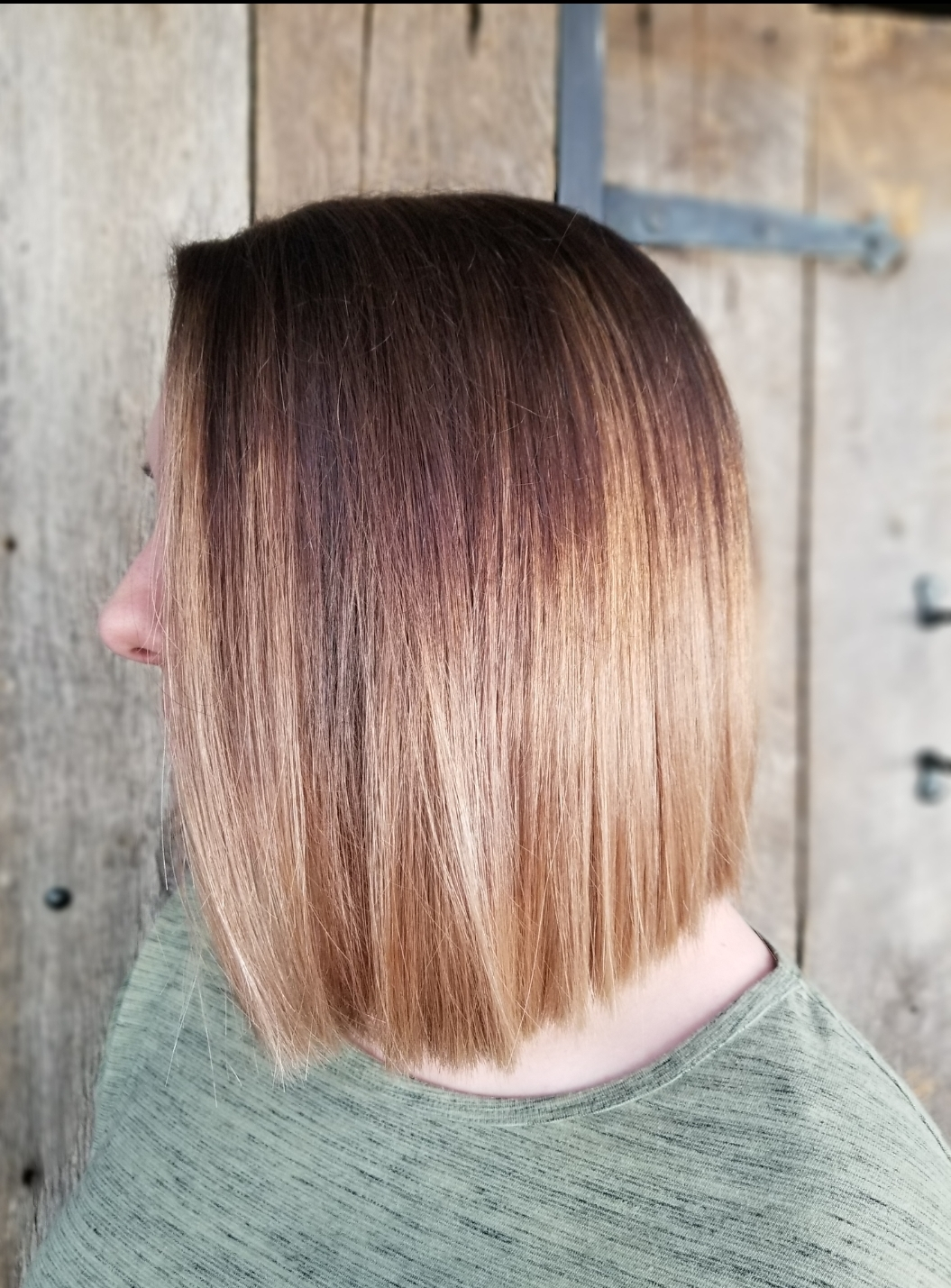 Two-Tone Color & Haircut
