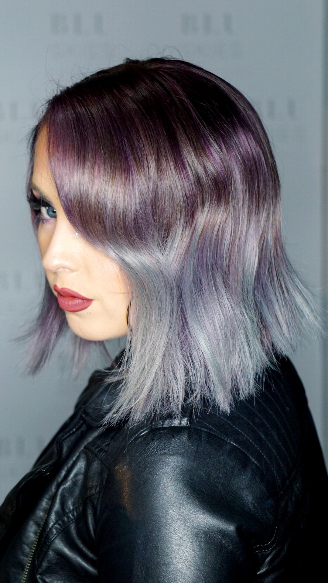 Vivid Coloring & Haircut