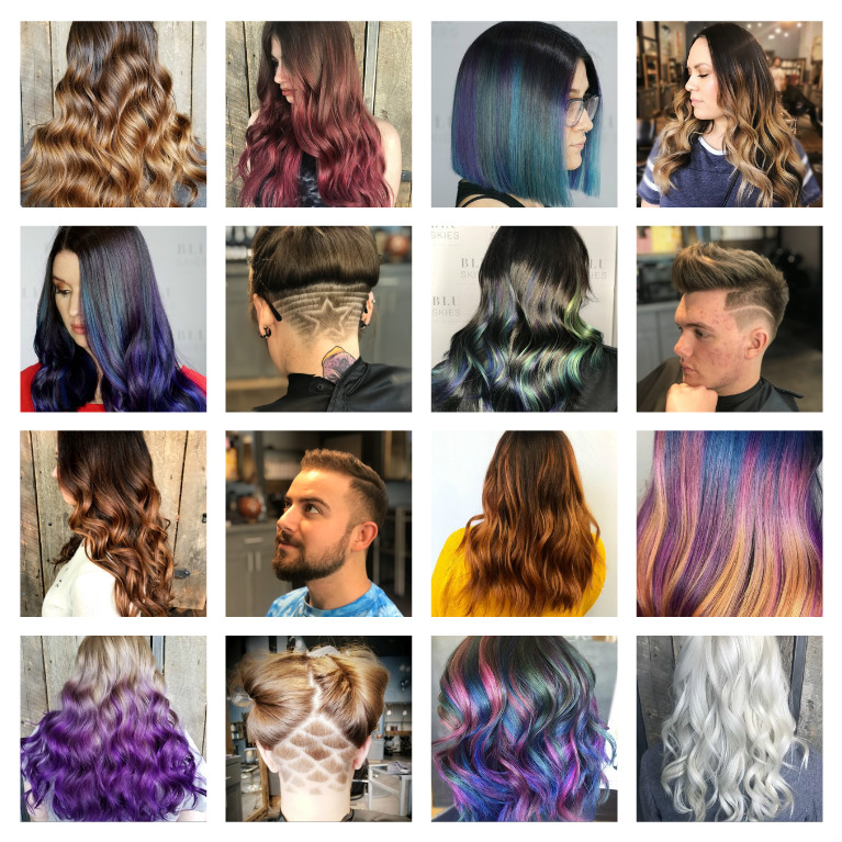 "BEHIND THE CHAIR - Hair is our ART and you are our CANVAS. We invite the opportunity to browse through our ""Behind The Chair"" Gallery which features our talented stylists work from inside the salon. Together, we can create anything! Take a look!"