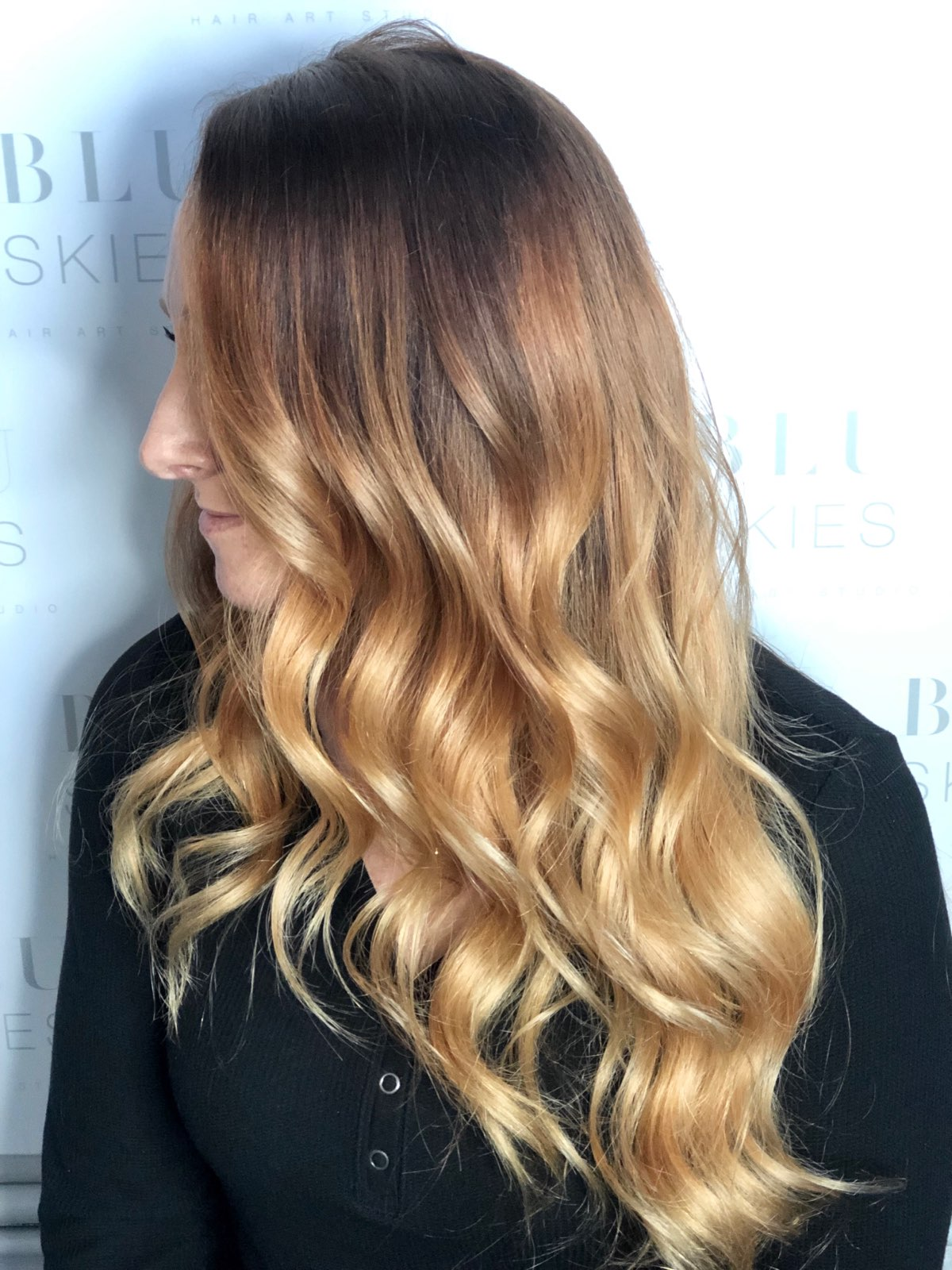 Ombre & Haircut
