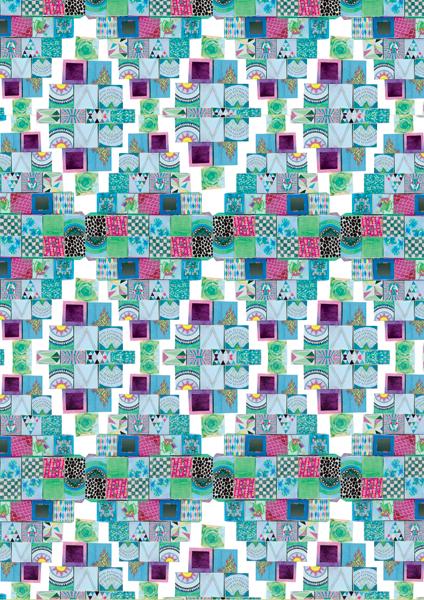 """""""Aztec Pattern"""" by Sam Pierpoint"""