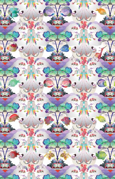 """""""Fish Pattern"""" by Sam Pierpoint"""