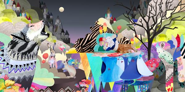 """""""Moonlit Valley"""" by Sam Pierpoint"""