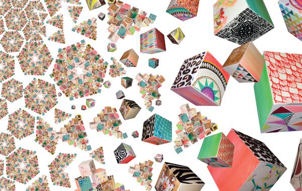"""Cube Pattern"" by Sam Pierpoint"