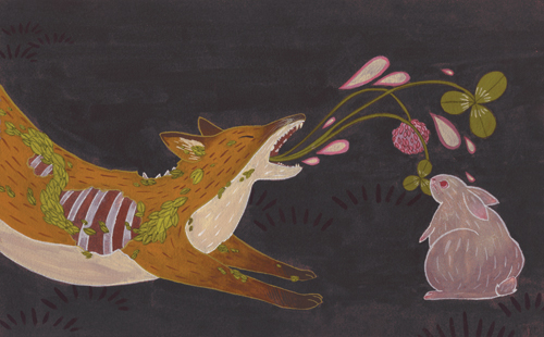 """The Fox and the Rabbit"" by Kailey Lang"