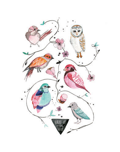 """Birds of the Wild"" by Meera Lee Patel"
