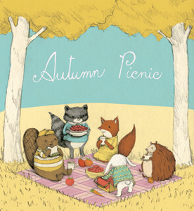 """Autumn Picnic"" by Stephanie Graegin"