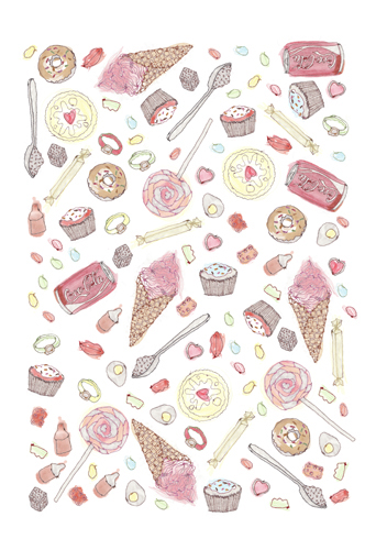 """Sweeties"" by Tugba Kop"