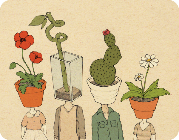 """YOU ARE WHAT YOU GROW"" BY ROSE WONG"