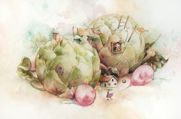 """ARTICHOKES"" BY VALERIE CHUA"