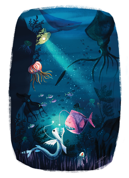 """DEEP SEA MONSTERS"" BY CAROLINE HADILAKSONO"