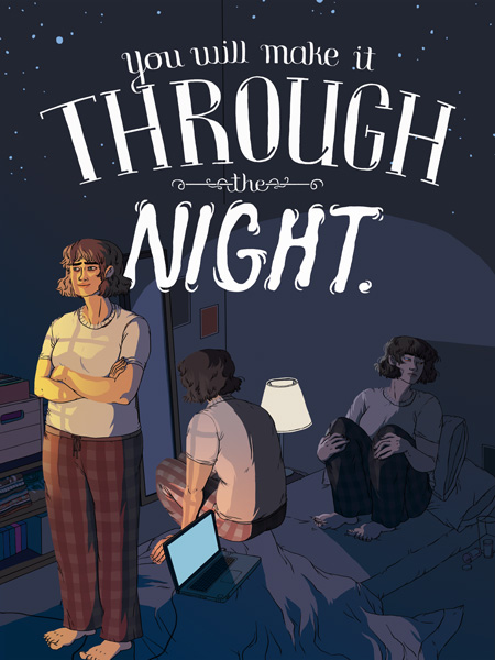 """You Will Make It Through the Night"" by Aimee Fleck"
