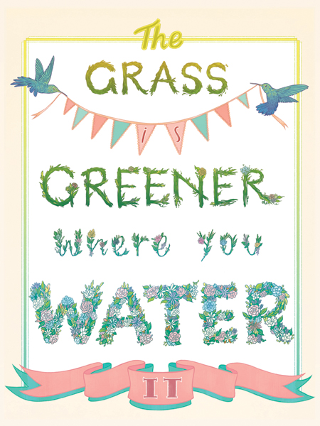 """""""The Grass is Greener"""" by Jen Mundy"""