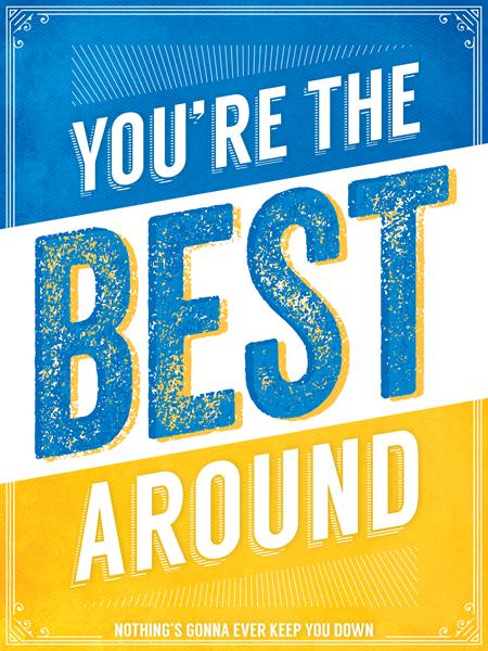 """You're the Best Around"" by Tom Wiener"