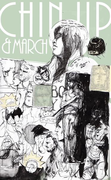 """Chin Up"" by Cameron Asao"