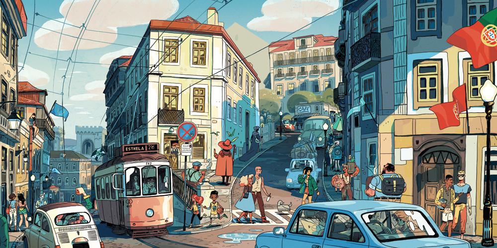 """""""Lisbon"""" by Sam Bosma"""