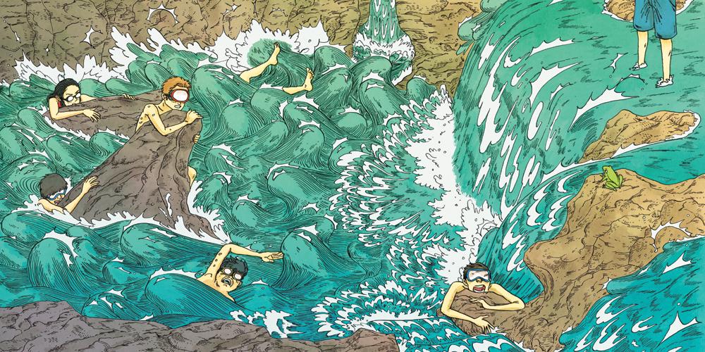 """""""Kiyotaka River"""" by Sage Einarsen"""