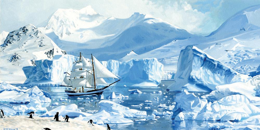 """Antarctica"" by Erik Krenz"