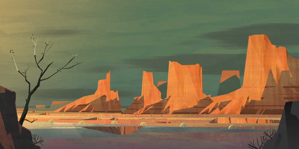 """Monument Valley"" by Mike Yamada"