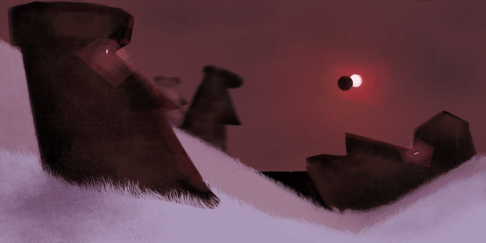 """Present Easter Island"" by Séléna Picque"