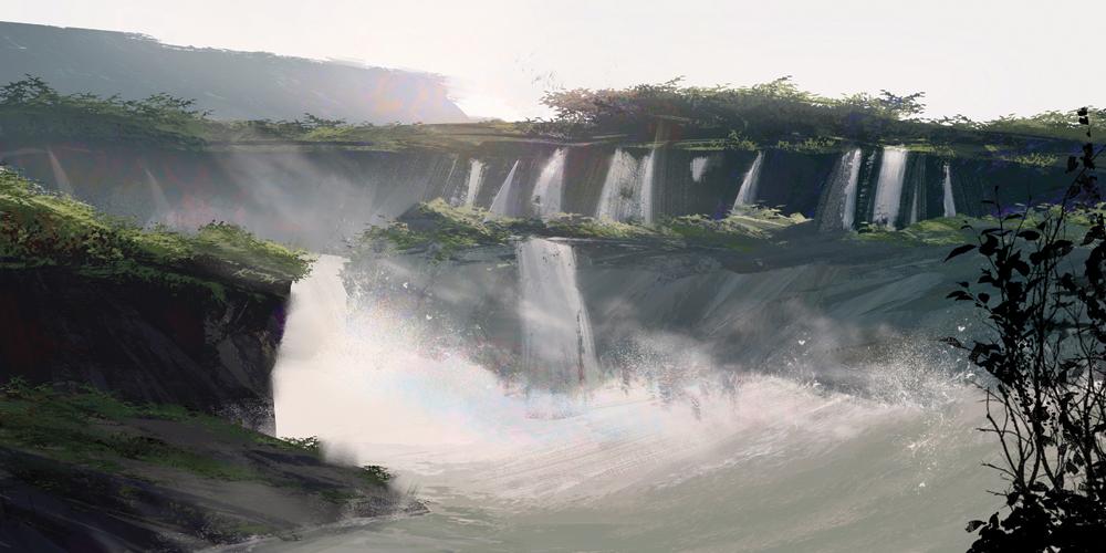 """""""Iguazu Falls"""" by Victor Mosquera"""