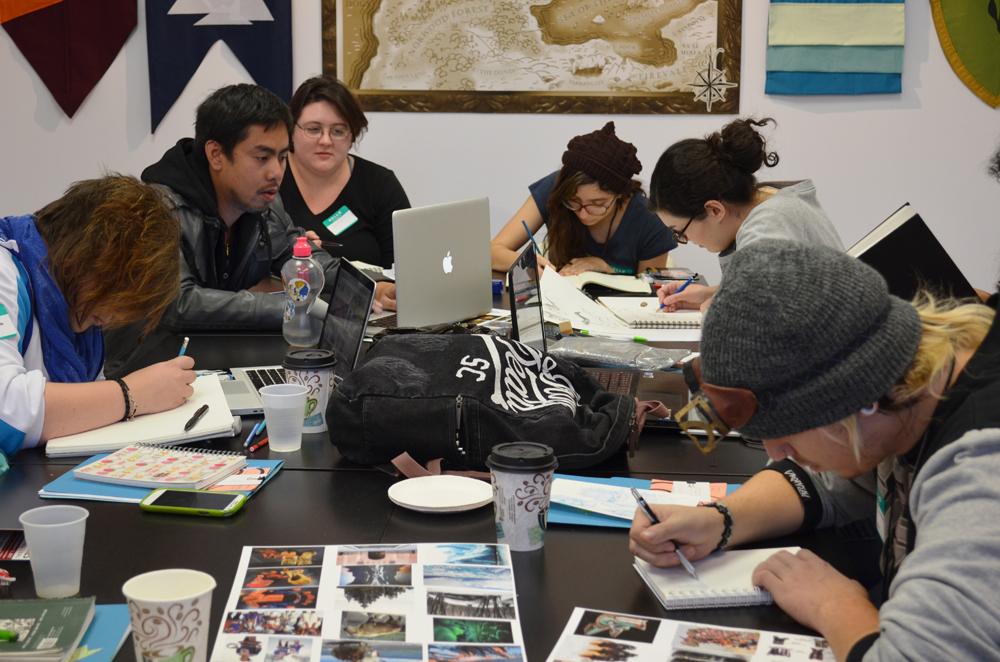 In-Studio ideation workshops.
