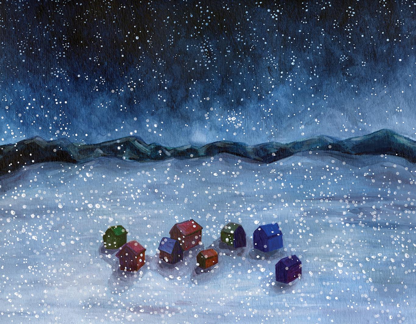 """""""Frozen Night"""" by Jenny Bookler"""