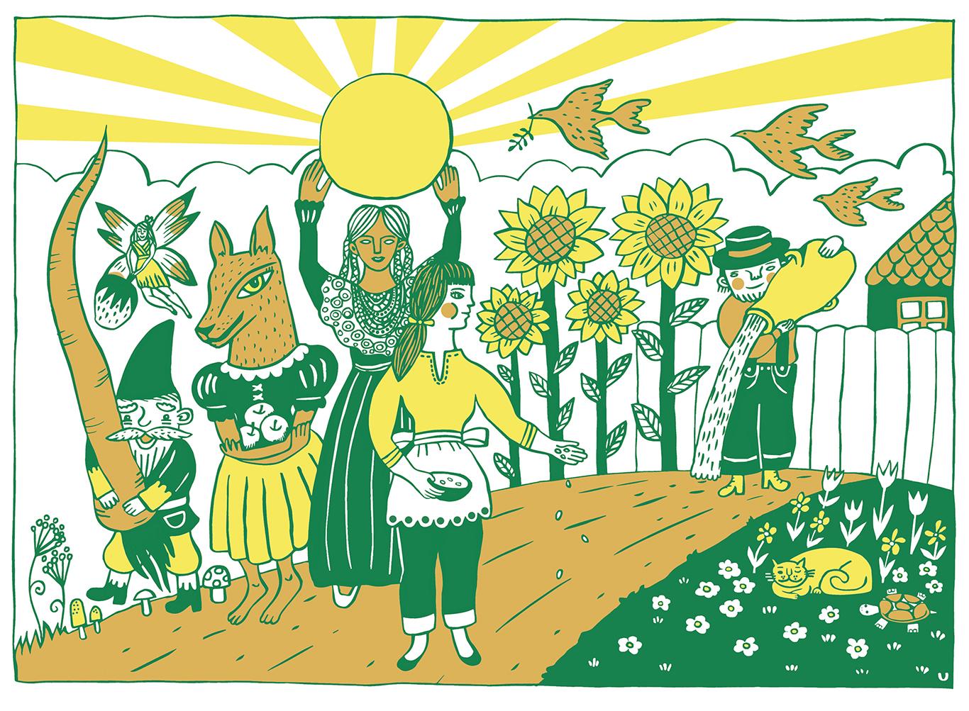 """""""We Sow the Seeds"""" by Ulana Zahajkewycz"""