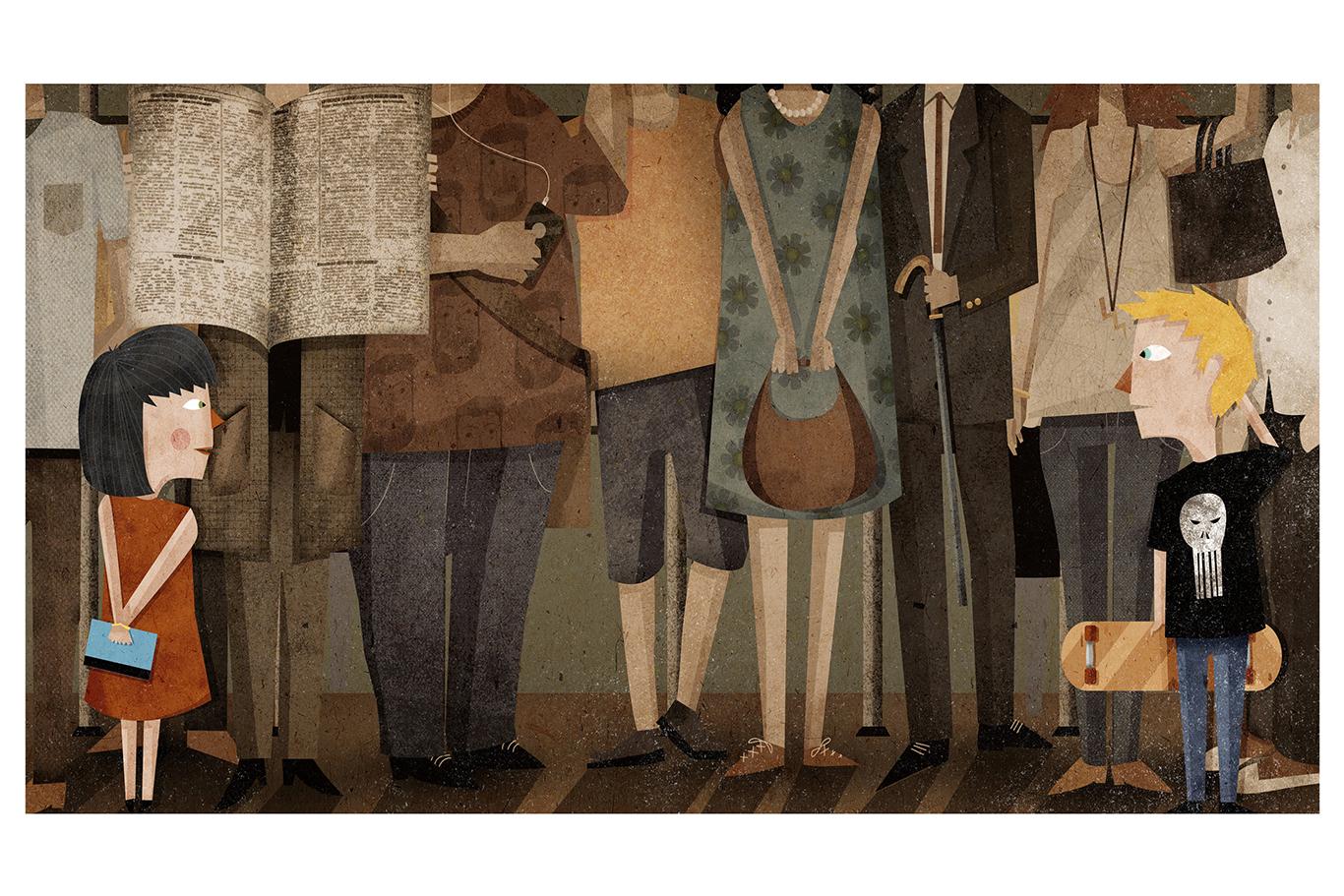 """""""Subway in Love"""" by Nicolas Aznárez"""