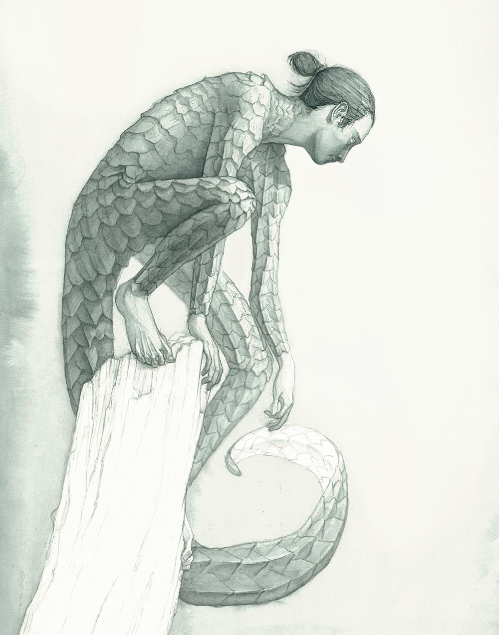 """Pangolin"" by Nick Blazey"