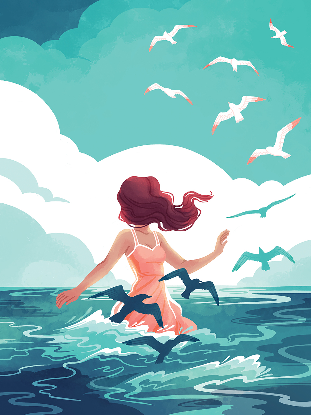 """Sky and Sea"" by Emily Cheeseman"