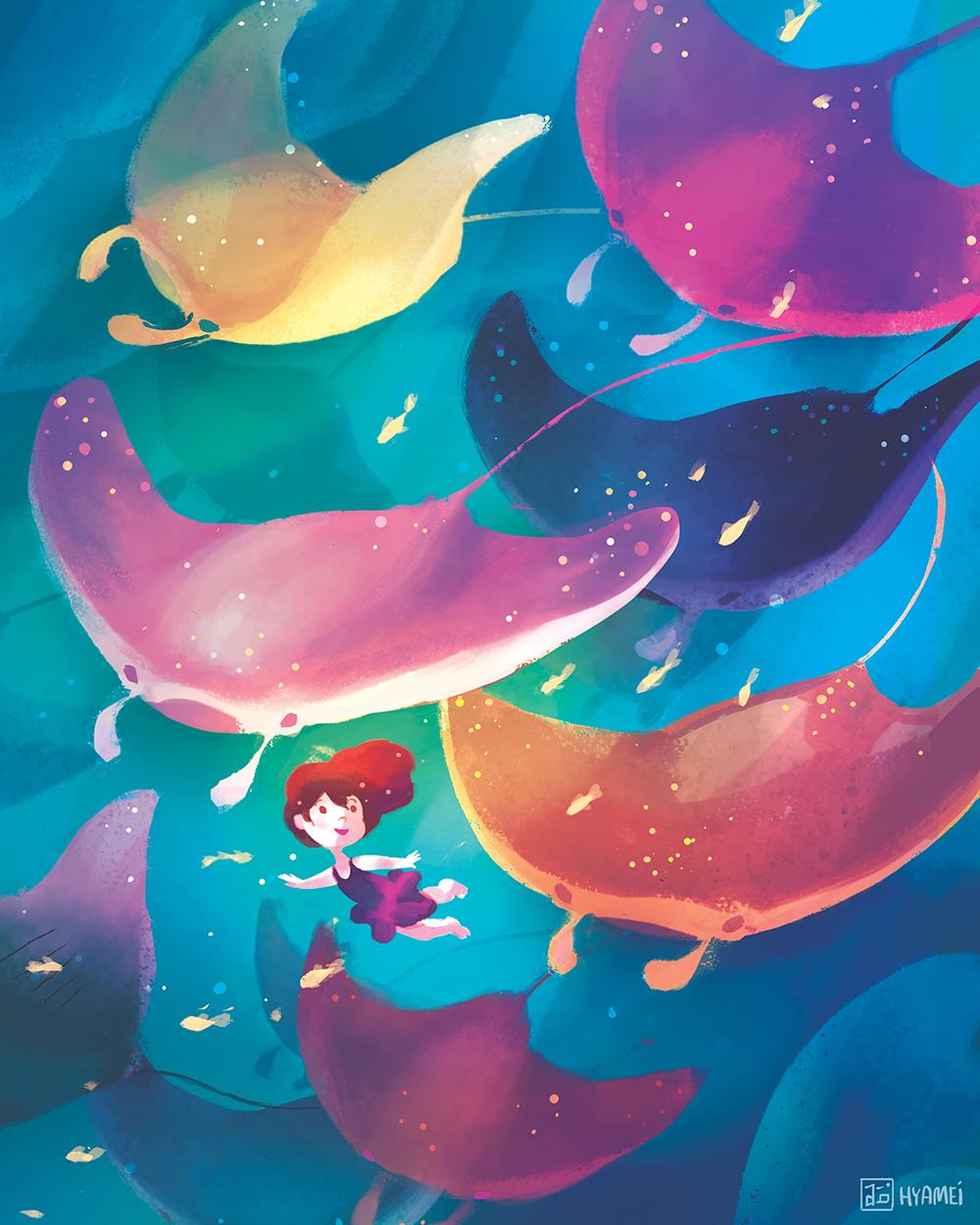 """""""Among Spirits"""" by Abigail L. Dela Cruz"""