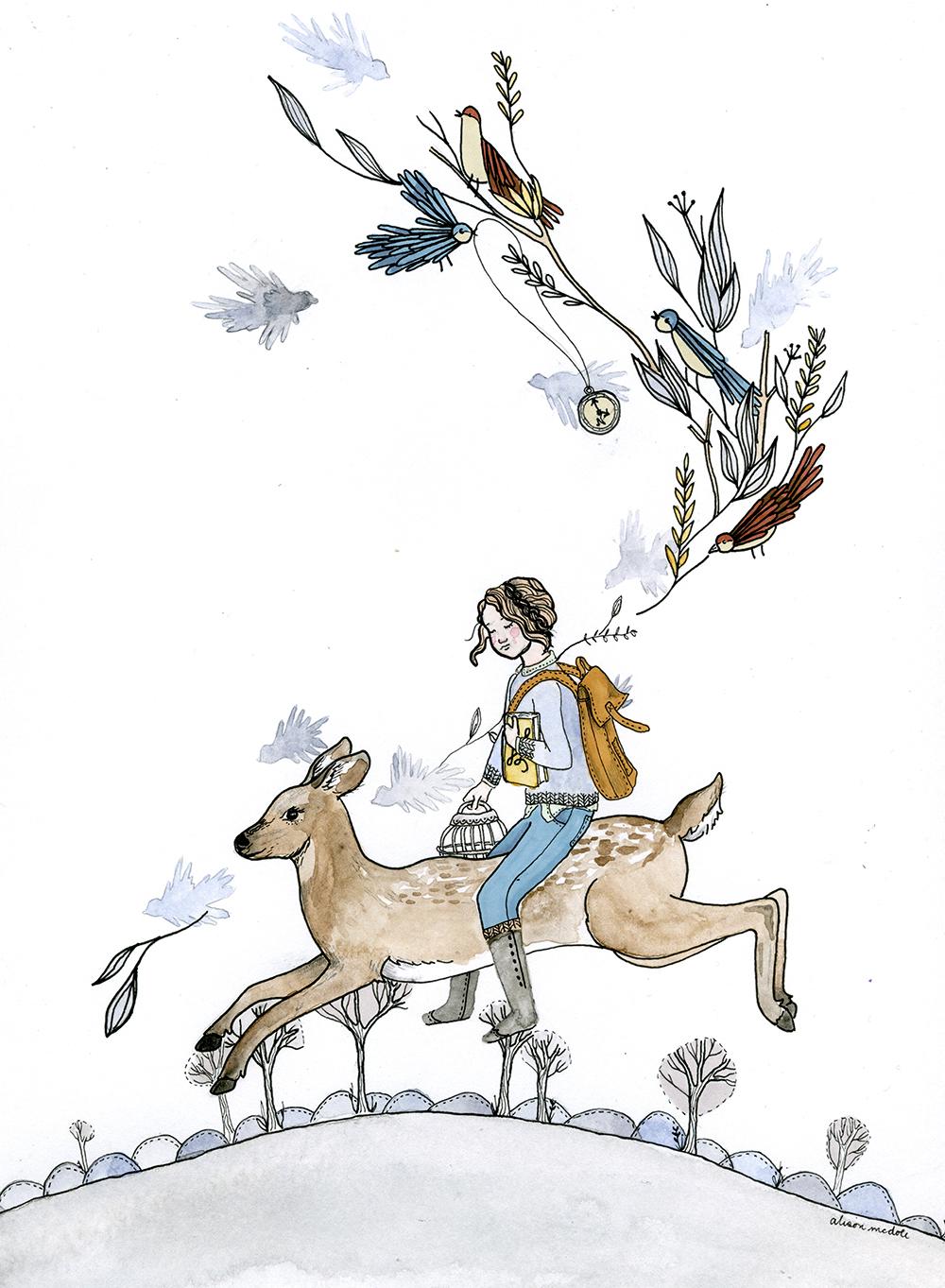 """Spirit Doe"" by Alison McDole"
