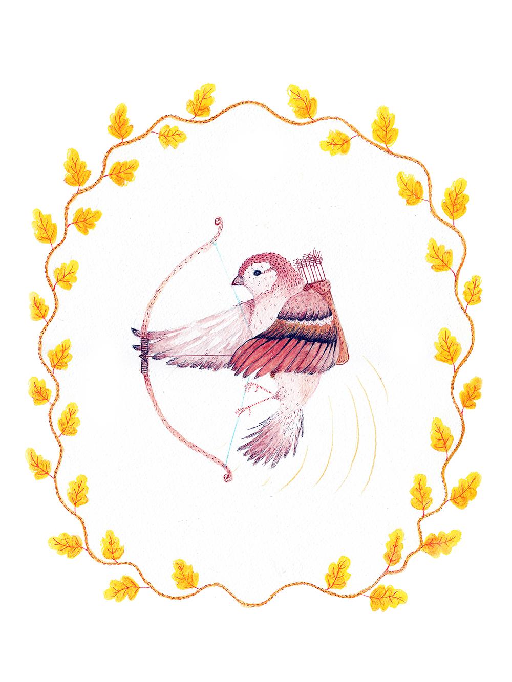 """Sparrow"" by Jennifer Muir"