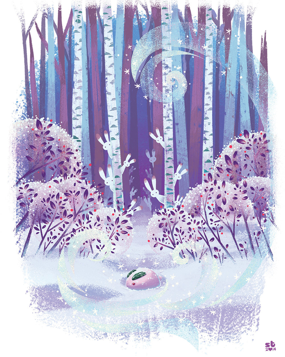 """""""Winter Offering"""" by Sarah Talmadge"""