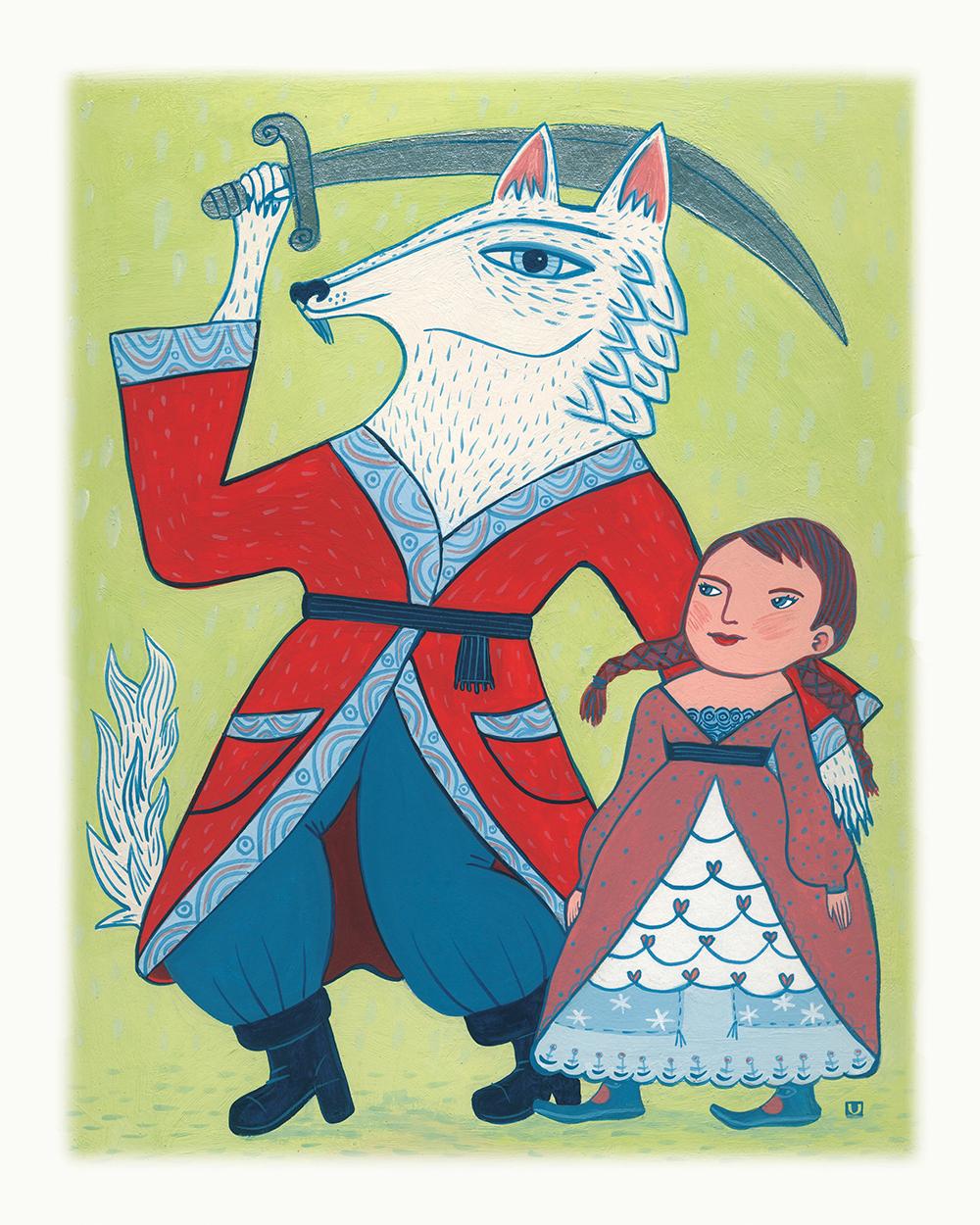 """""""White Wolf"""" by Ulana Zahajkewycz"""