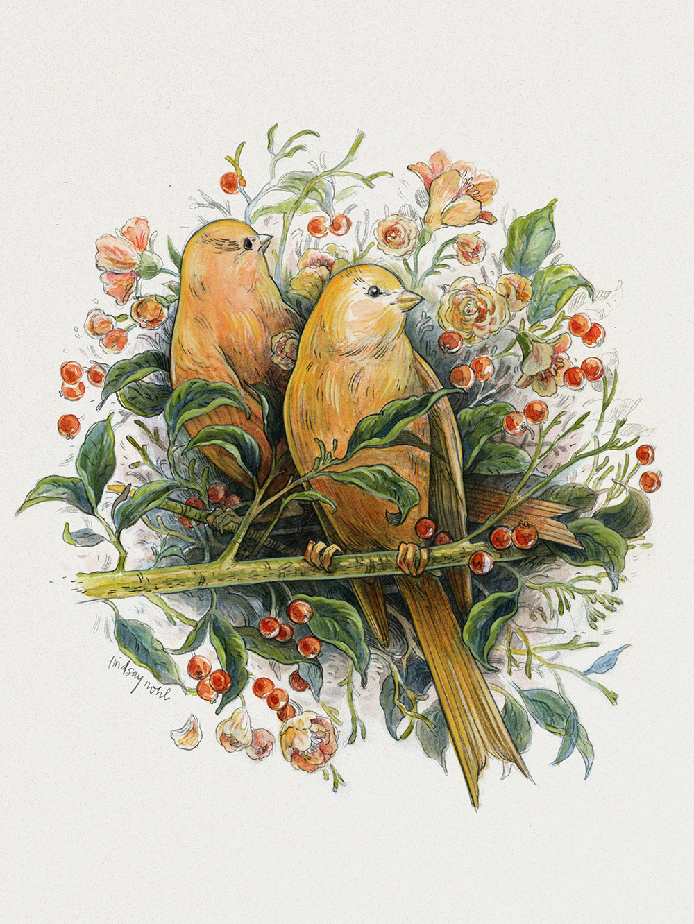 """""""Canaries"""" by Lindsay Nohl"""