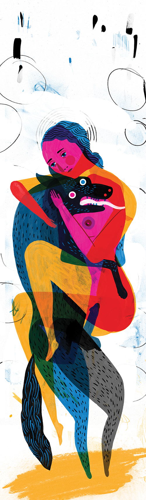 """Demon Dog"" by Keith Negley"