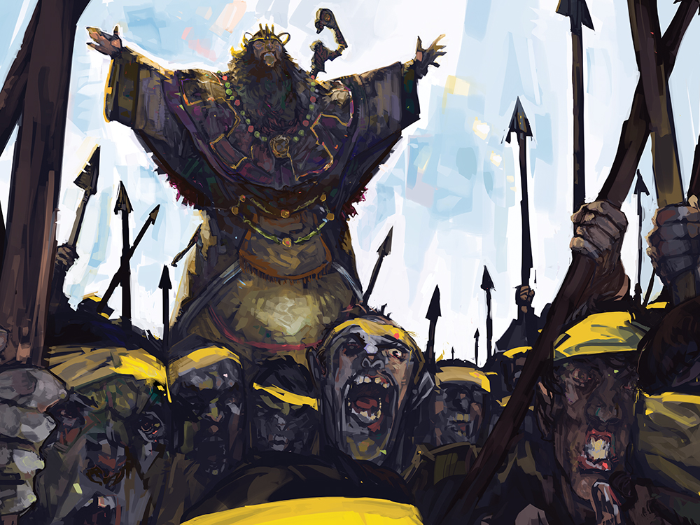 """Zhang Jiao and the Yellow Turban Rebellion"" by Oliver Hine"