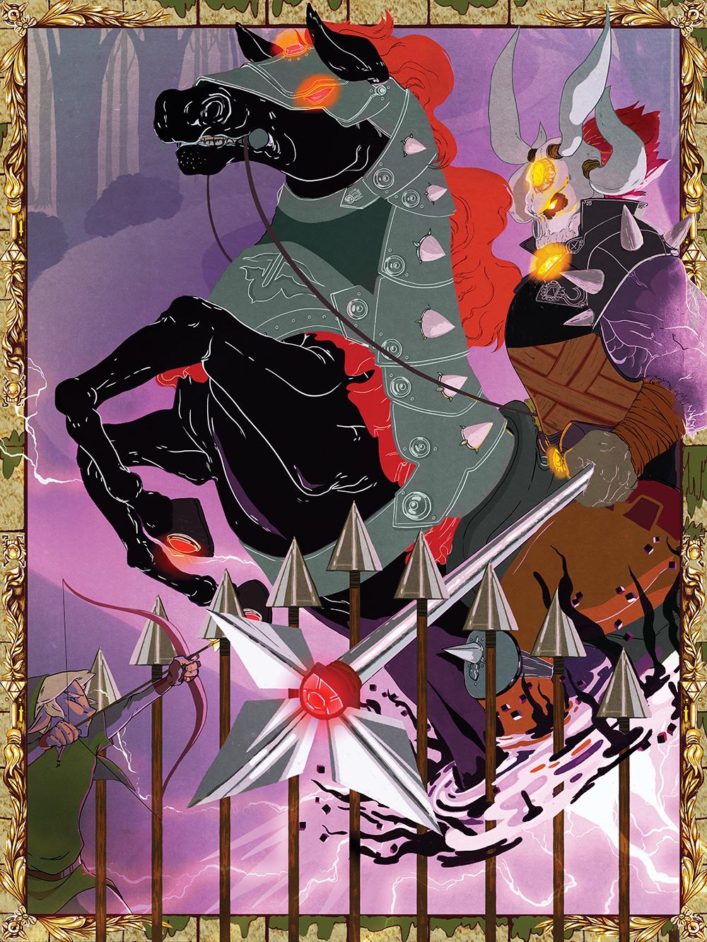 """Phantom Ganon"" by Jay Bendt"