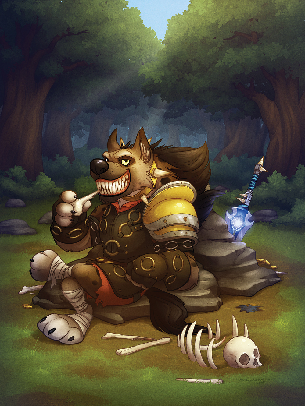 """""""Hogger"""" by Chelsea Kenna"""