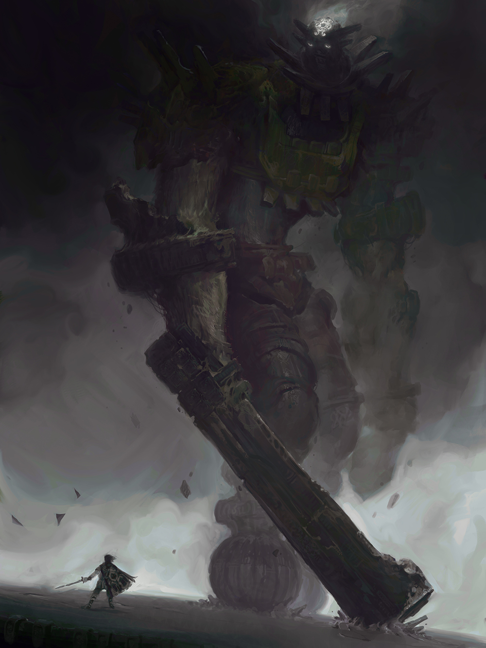 """The 3rd Colossus"" by Victory Maury"