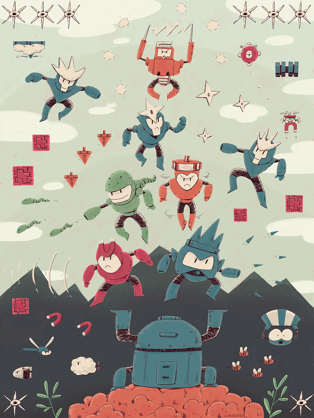 """Robot Masters"" by Dana Wulfekotte"